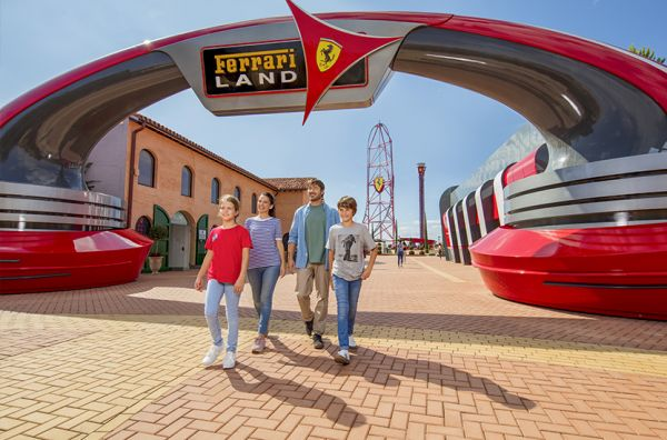 PORT AVENTURA AND FERRARI LAND 2019