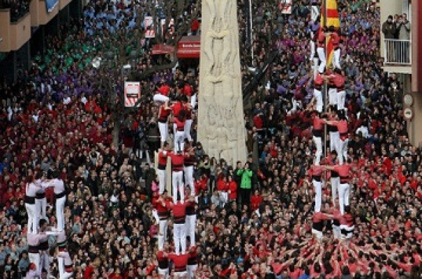 The human towers and other celebrations of the town of Valls